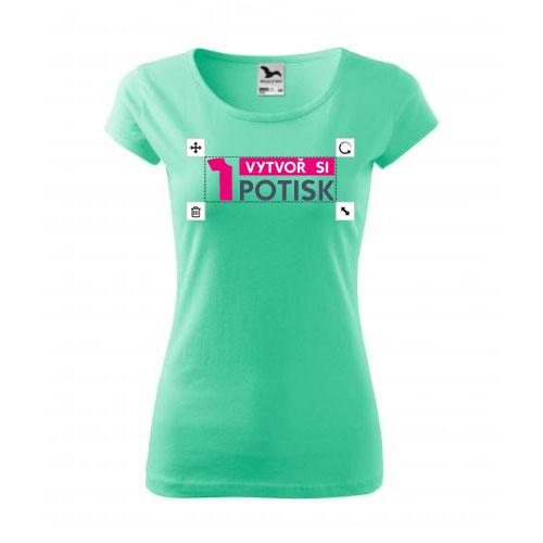 Dámské tričko potisk - tričko s vlastním potiskem