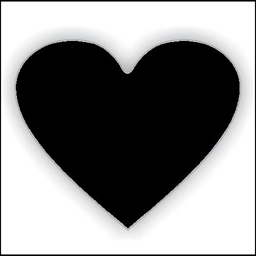 polštář potisk srdce