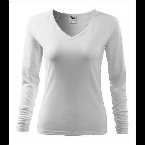 dámské tričko s dlouhým rukávem - potisk