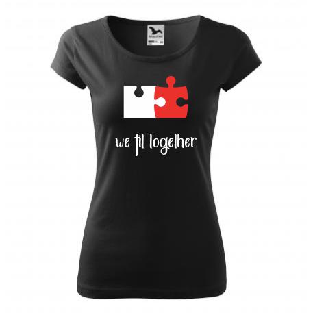 Dámské tričko we fit together