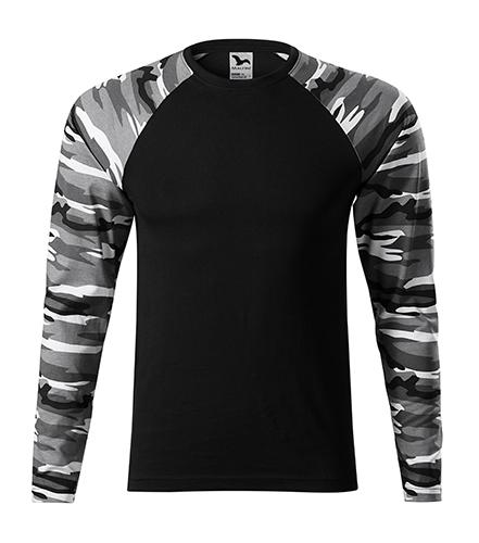 vojenské tričko camouflage pánské