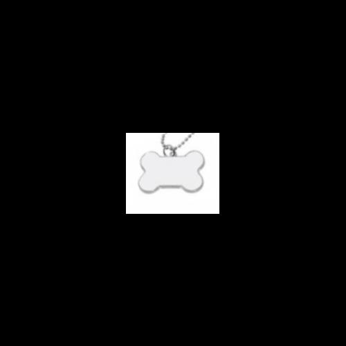 Náhrdelník kost potisk