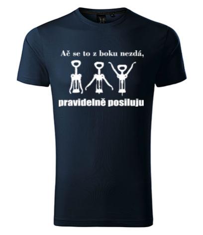 dárky pro muže - potisk triček