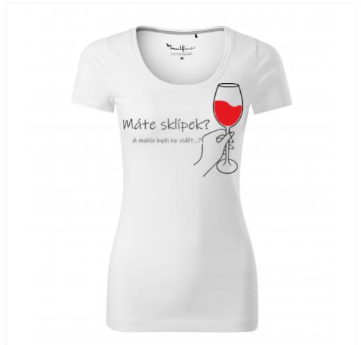 tričko s vlastním potiskem - ženy